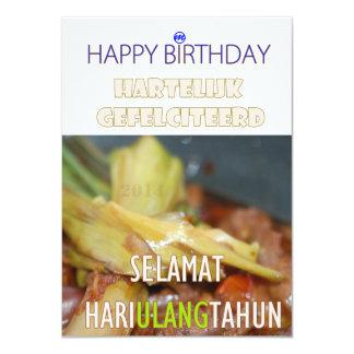 MR. Verjaardagskaart Card