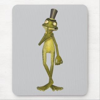 Mr. Warts the Cartoon Frog Mouse Pad
