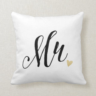 Mr. Wedding,Anniversary Throw Pillow