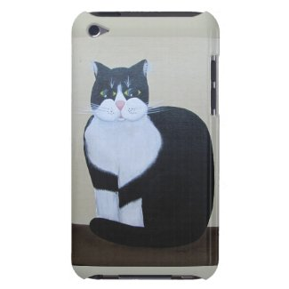Mr Whiskers ~ iPod Touch CaseMate case