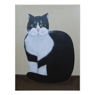 Mr Whiskers Print