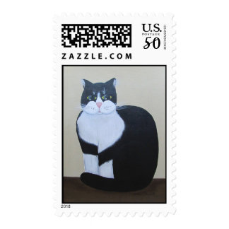 Mr Whiskers ~ stamp