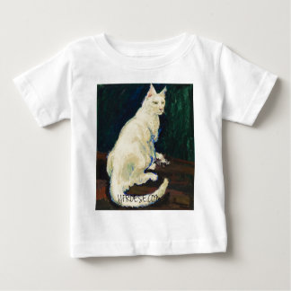 Mr White - Nemeir the Cat Baby T-Shirt