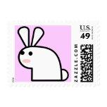 Mr. White Wabbit Postage Stamp