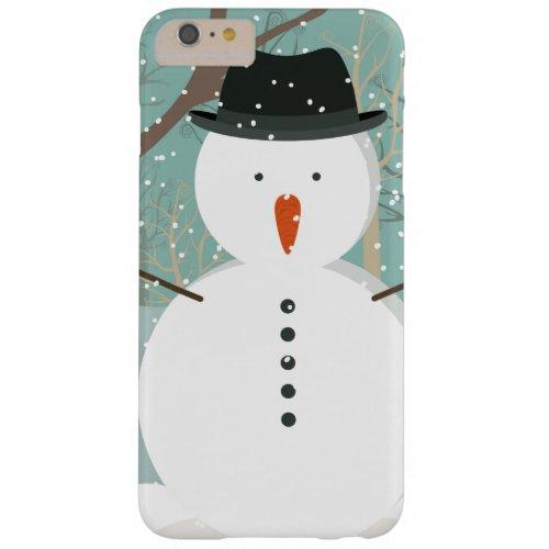 Mr. Winter Snowman Phone Case