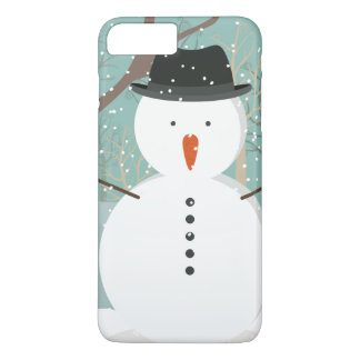 Mr. Winter Snowman iPhone 7 Plus Case