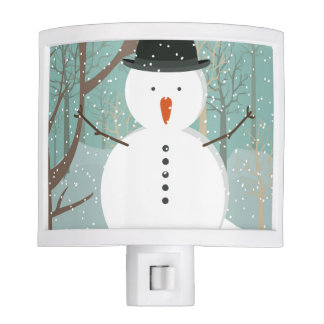 Mr. Winter Snowman Night Light