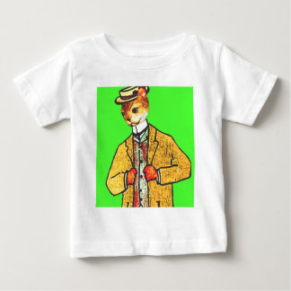 Mr Wiskers Steps out Baby T-Shirt