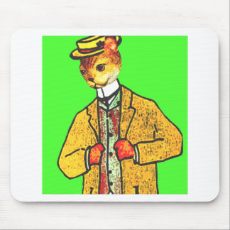 Mr Wiskers Steps out Mouse Pad