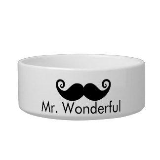 Mr. Wonderful Dog Bowl