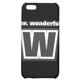 Mr. Wonderful iPod 4 Case Cover For iPhone 5C