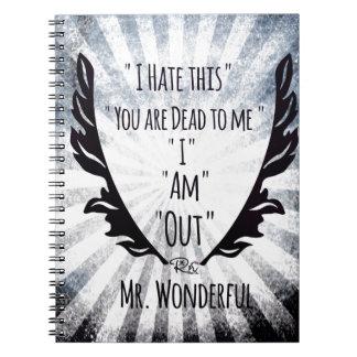MR.Wonderful.jpeg Spiral Notebook