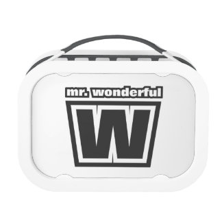 Mr. Wonderful Lunch Box