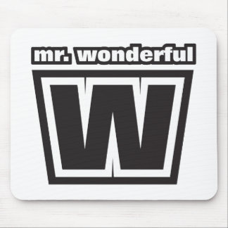 Mr Wonderful Mouse Pad