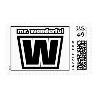 Mr Wonderful Stamps