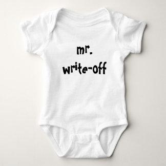 mr-write-off-01 baby bodysuit