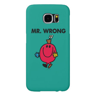 Mr Wrong Classic Samsung Galaxy S6 Case