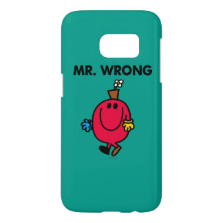 Mr Wrong Classic Samsung Galaxy S7 Case