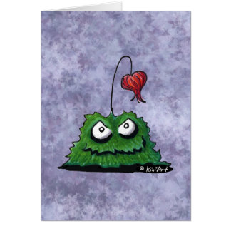 Mr. Wrong Monster Card