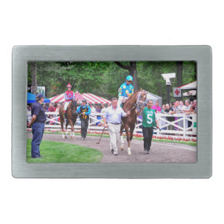 Mr. Z in the 100th Sanford Stakes Rectangular Belt Buckle