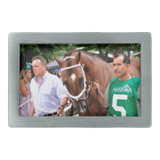 Mr. Z in the 100th Sanford Stakes Belt Buckle