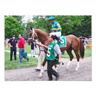 Mr. Z in the 100th Sanford Stakes Photo Print