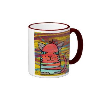 Mr ZigZag II Ringer Coffee Mug