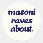 MRA Round Sticker