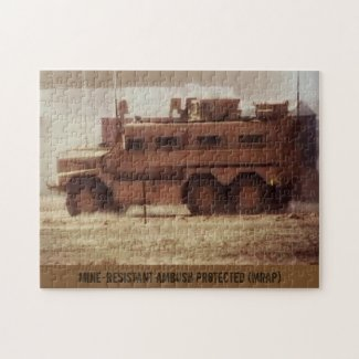 MRAP 10 x 14 Photo Puzzle
