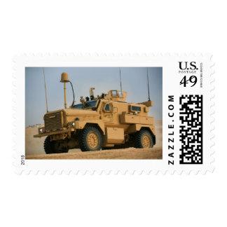MRAP Cougar Postage Stamp