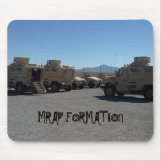MRAP FORMATION USA MILITARY ARMOR MOUSE PAD