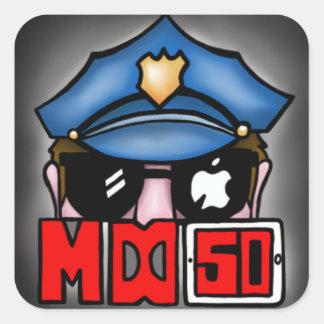 """MrDoubleD50 """"The Sticker"""" Square Sticker"""