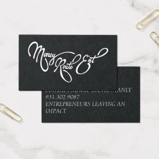 MRE BUSINESS CARD