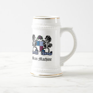 MRFC Mean Machine Beer Stein 18 Oz Beer Stein