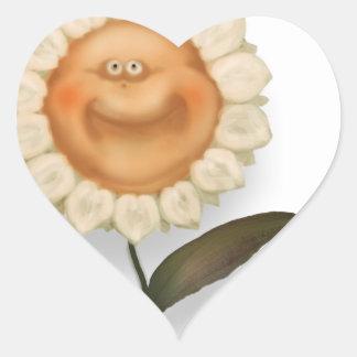 Mrgherito il girasole heart sticker