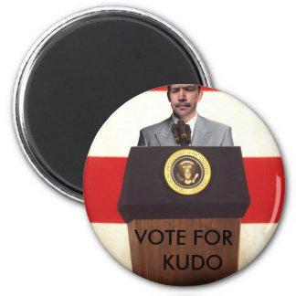mrgreene 2 VOTE FOR KUDO Refrigerator Magnets