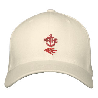MRHS Anchor Logo Hat Embroidered Baseball Cap