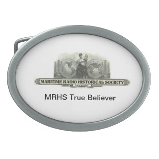 MRHS True Believer Oval Belt Buckles