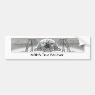 MRHS verdad a la pegatina para el parachoques del Etiqueta De Parachoque