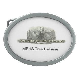 MRHS verdad al creyente Hebillas De Cinturon Ovales