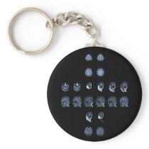 MRI Cross Keychain