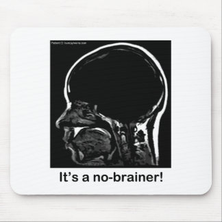 MRI: It's a no-brainer! Mouse Pad