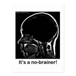 MRI: It's a no-brainer! Postcard