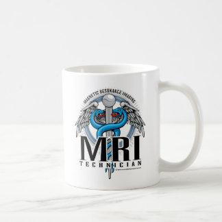 MRI Tech Caduceus Classic White Coffee Mug