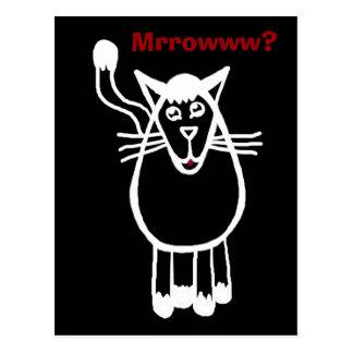 ¿Mrrowww? Postales
