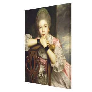 Mrs Abington as Miss Prue in Congreve's 'Love for Canvas Print