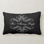 Mrs. Always Right Elegant Boudoir Bed Pillow