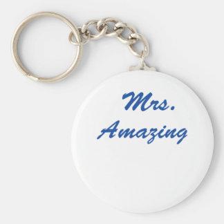 Mrs. Amazing Keychain
