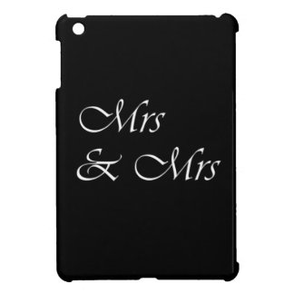 Mrs and Mrs iPad Mini Covers