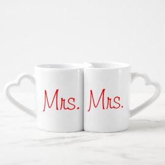 Mrs. and Mrs. Mugs